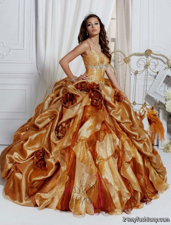 beautiful gold ball gowns 2016-2017 » B2B Fashion