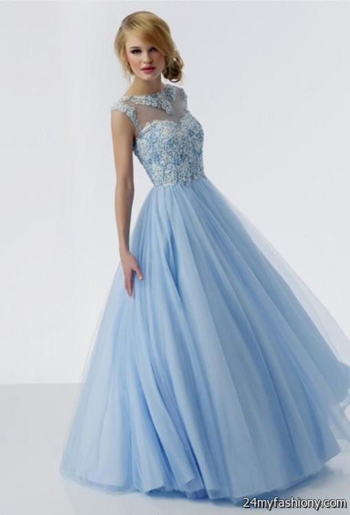 beautiful prom gowns with sleeves 2016-2017 | B2B Fashion