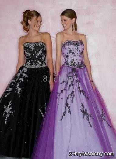 purple and silver wedding dresses | Wedding