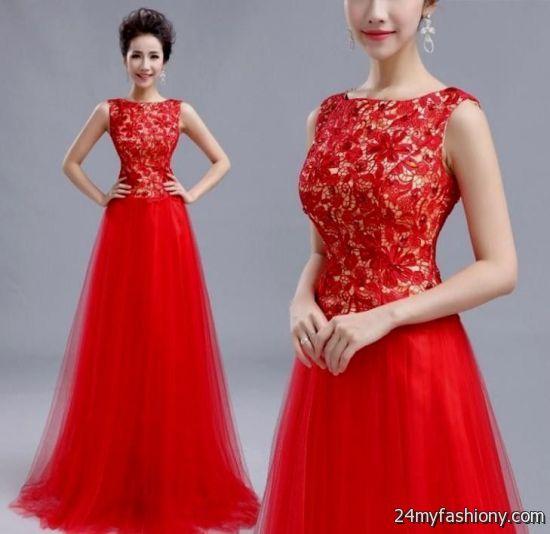 beautiful red prom dresses 2016-2017 | B2B Fashion