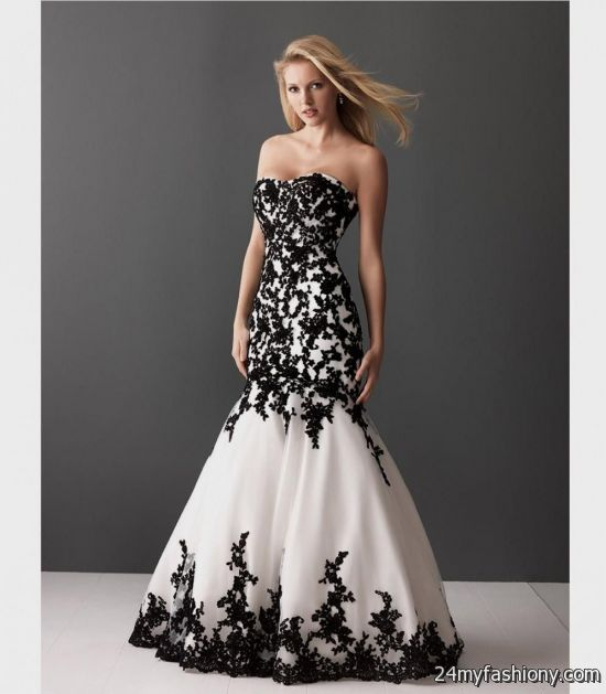 Cheap Black And White Prom Dresses : Moniezja.com
