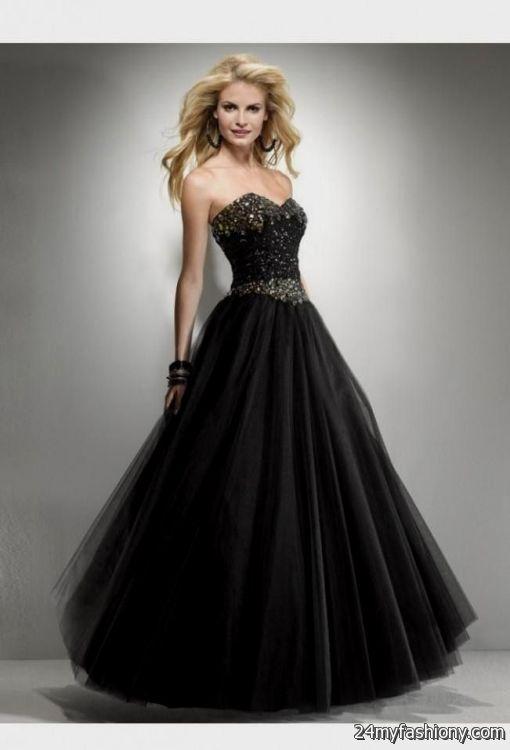 black and gold corset prom dresses 2016-2017 | B2B Fashion