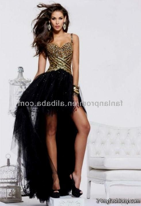 Black and Gold Prom Dresses 2017 – Dresses for Woman