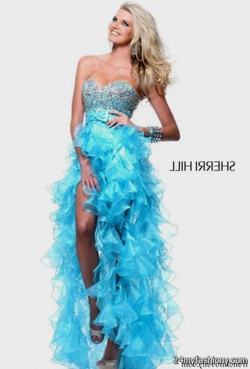 black and light blue prom dress 2016-2017 » B2B Fashion