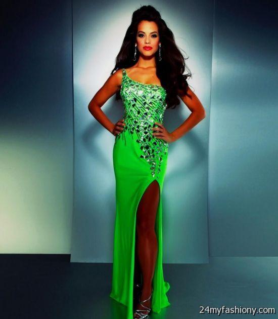 Black And Neon Green Wedding Dresses Looks B2b Fashion