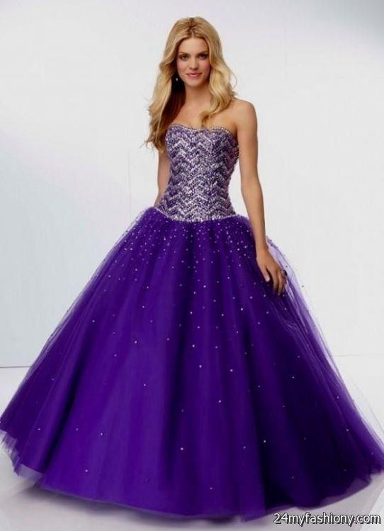 black and purple prom dresses 2016-2017 » B2B Fashion