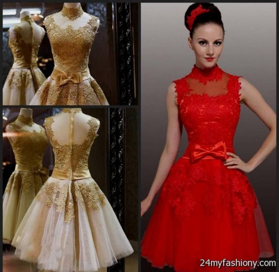 Luxury Wedding Dresses For Young Red Bridesmaid Dresses With Lace