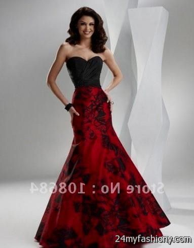 black and red wedding dresses 2016 2017 b2b fashion