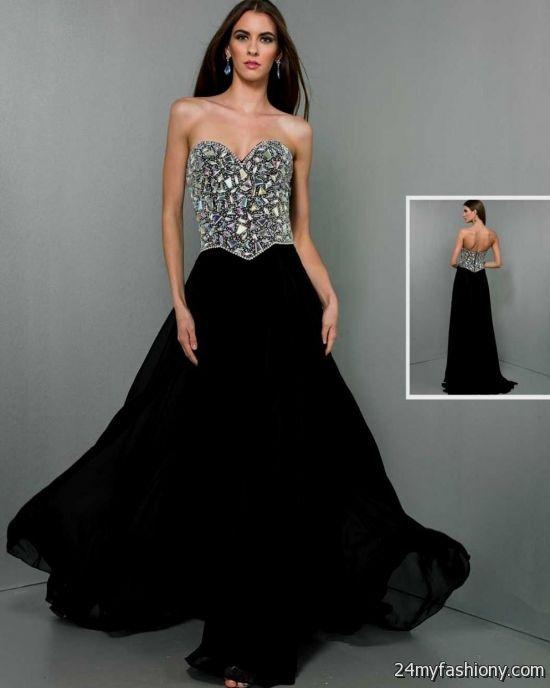 black and silver prom dresses – Fashion dresses