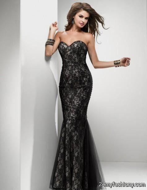 black and white lace prom dress 2016-2017 » B2B Fashion