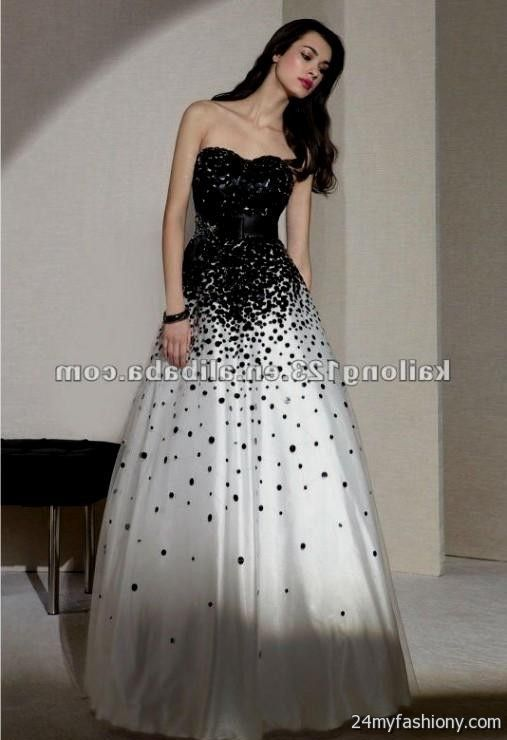 Short Black And White Prom Dresses Uk : Moniezja.com