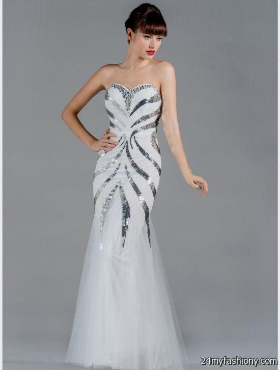 black and white mermaid prom dress 2016-2017 » B2B Fashion