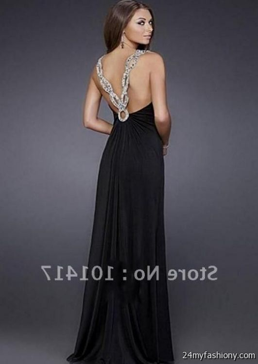black backless prom dresses 2016-2017 » B2B Fashion
