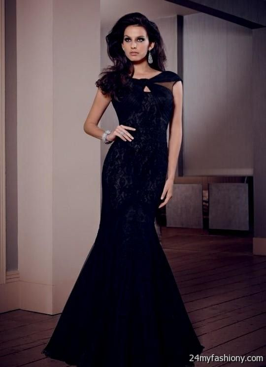 black couture evening gowns 2016-2017 » B2B Fashion