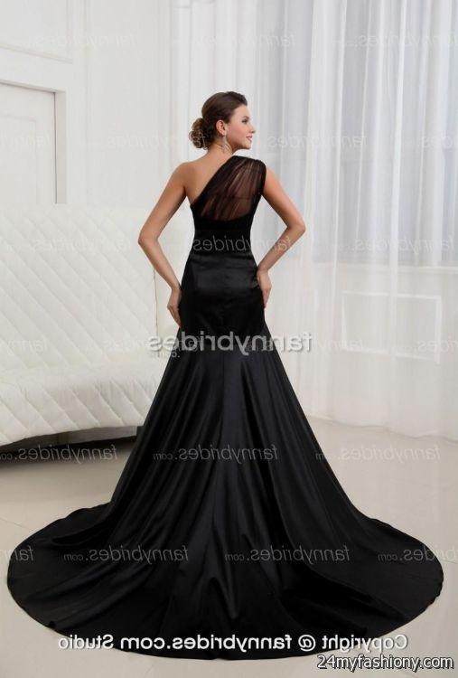 Black Mermaid Wedding Dresses Looks B2b Fashion