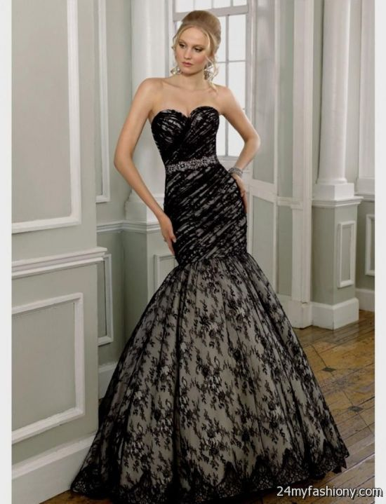 black mermaid wedding dresses 2016 2017 b2b fashion