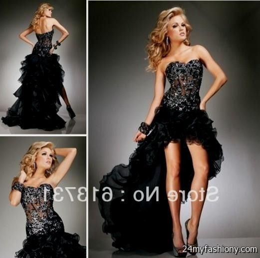 Short Front Prom Dresses