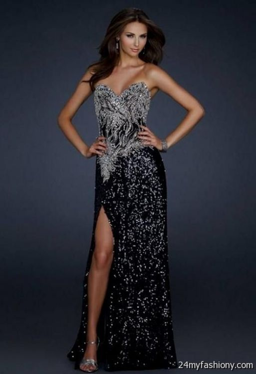 f001064a You can share these black sequin prom dress on Facebook, Stumble Upon, My  Space, Linked In, Google Plus, Twitter and on all social networking sites  you are ...