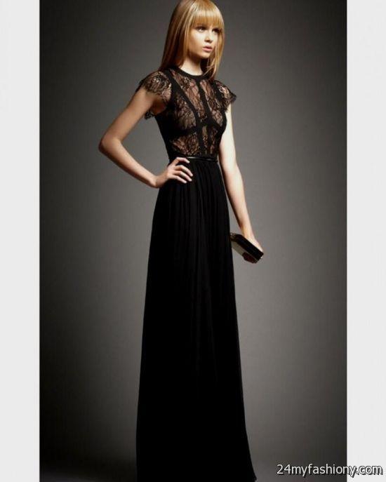 black winter formal dresses 2016-2017 | B2B Fashion