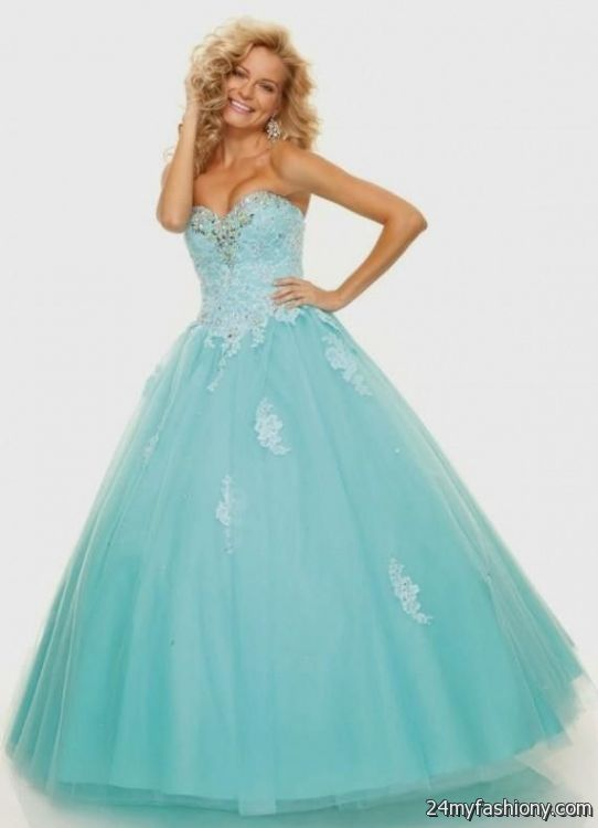 blue and gold ball gowns 2016-2017 » B2B Fashion