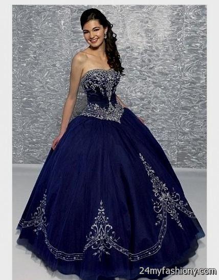 Blue gothic wedding dress 2016 2017 b2b fashion for Blue gothic wedding dresses