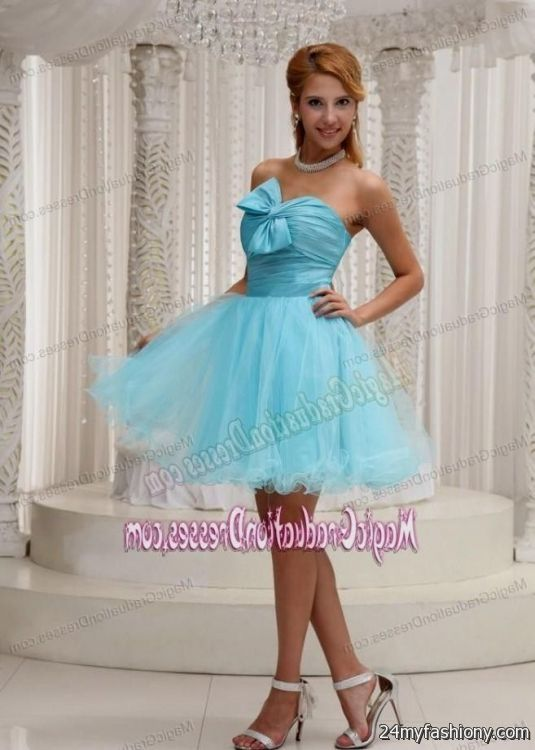 blue graduation dresses for 5th grade girls 2016-2017 » B2B Fashion