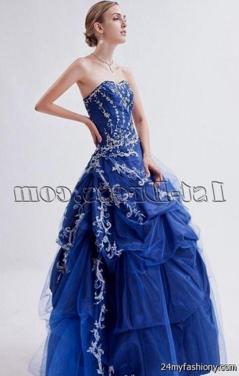 blue masquerade ball gowns 2016-2017 | B2B Fashion