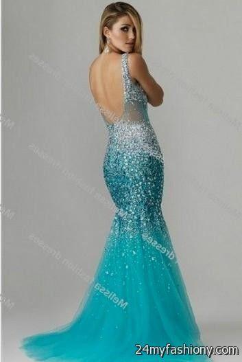 blue mermaid prom dresses 2016-2017 » B2B Fashion