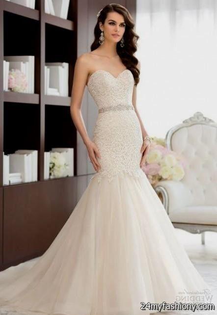 Pink Wedding Dresses Mermaid Style : Blush mermaid wedding dresses b fashion