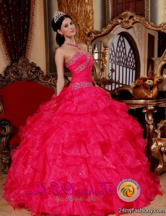 bright coral quinceanera dresses 20162017 b2b fashion