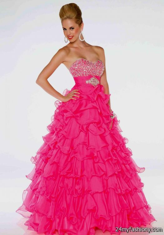bright pink prom dresses 2016-2017 » B2B Fashion