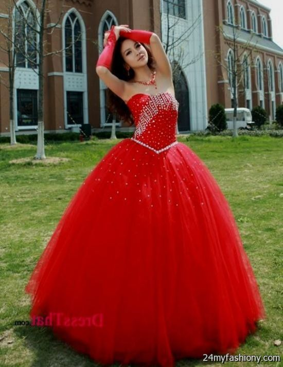 Collection Bright Red Prom Dress Pictures - Reikian