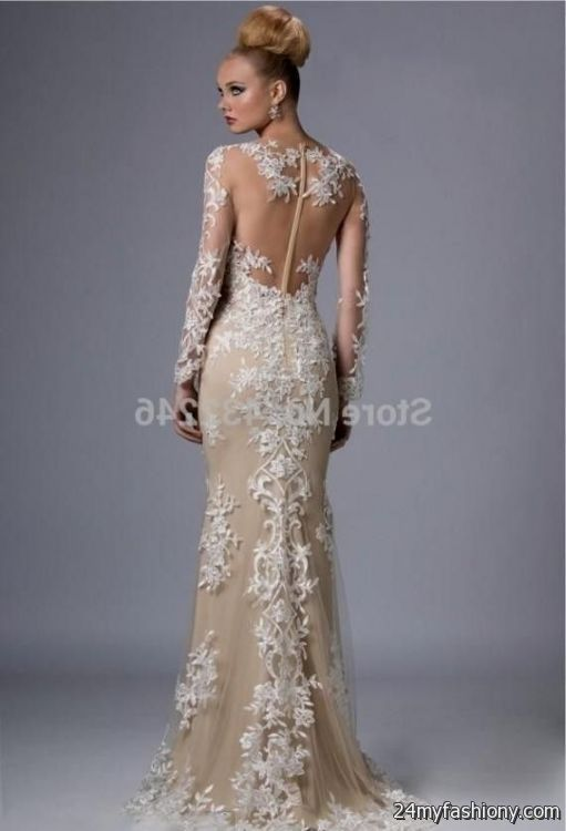 champagne lace prom dress 2016-2017 » B2B Fashion