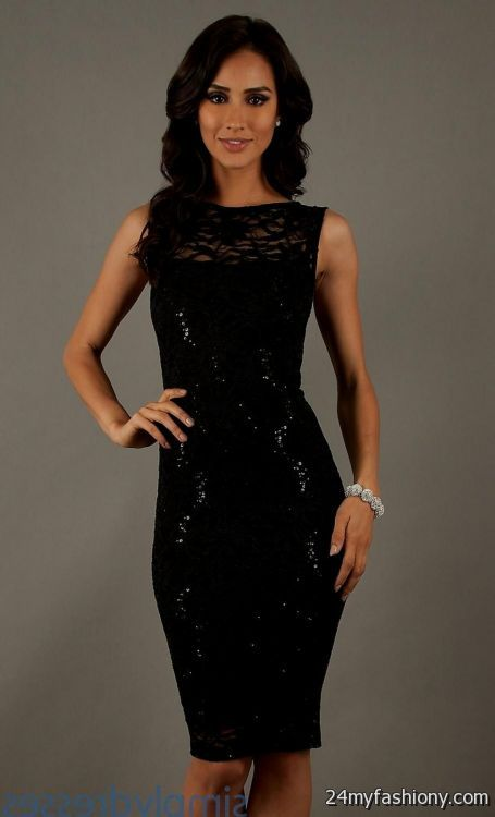 classy black cocktail dresses looks b2b fashion