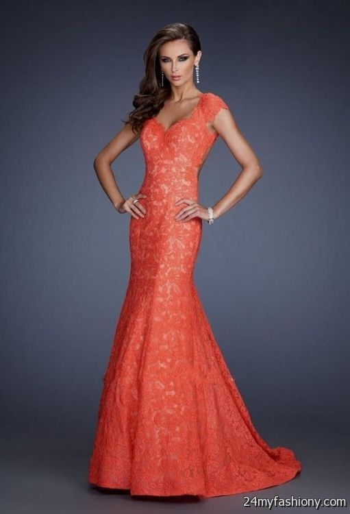 Images of Prom Dress Coral - Asatan