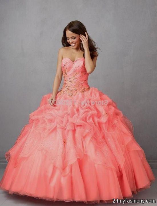 coral quinceanera dresses tumblr 2016-2017 » B2B Fashion