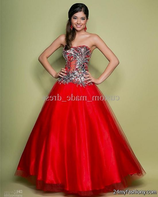 Red Corset Prom Dresses – Dresses for Woman