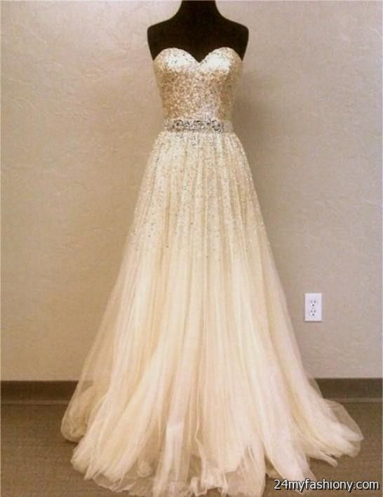 Cream Prom Dress_Prom Dresses_dressesss