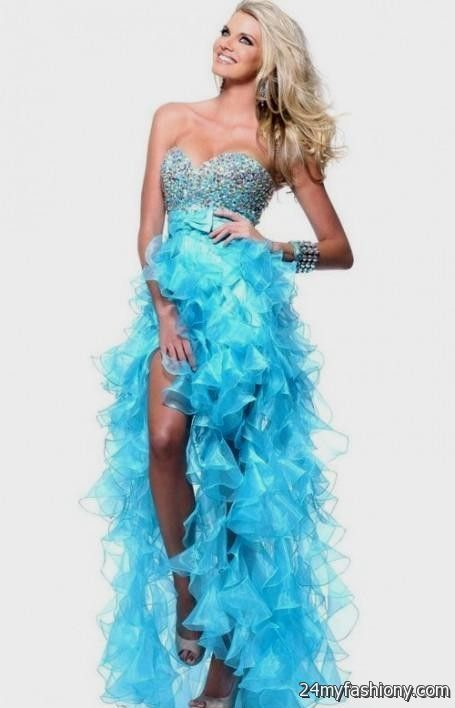 Cute Prom Dresses Short In Front Long In Back Looks B2b
