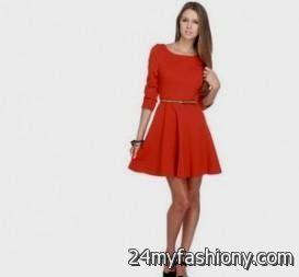 cute red dresses for juniors 20162017 b2b fashion