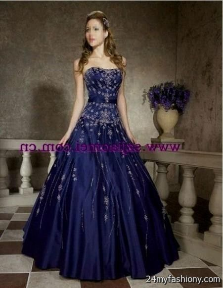 dark blue ball gown 2016-2017 » B2B Fashion