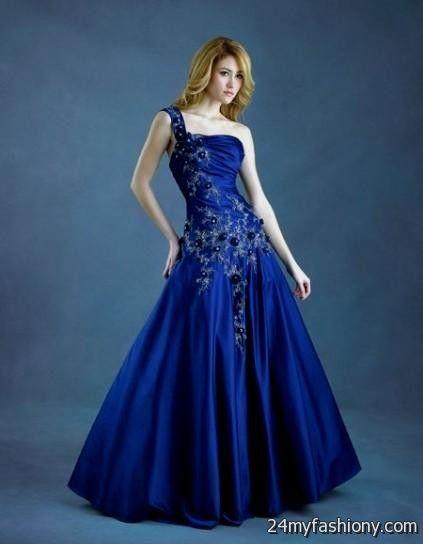dark blue ball gown prom dresses 2016-2017 | B2B Fashion