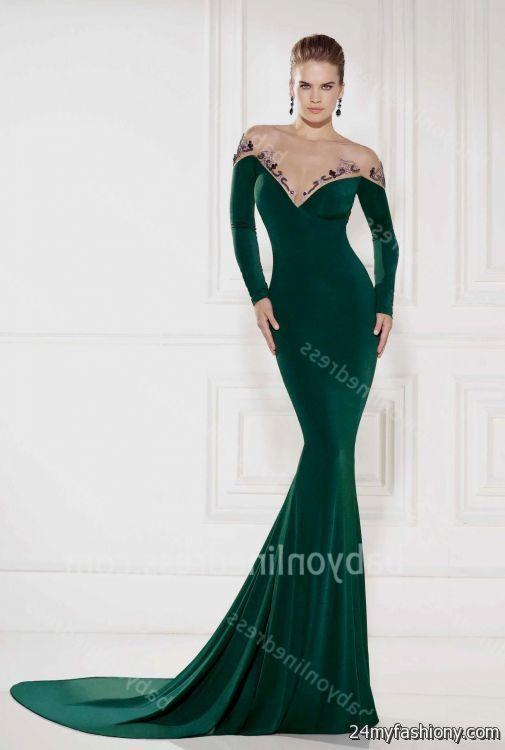 dark green prom dress 2016-2017 » B2B Fashion