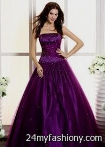 dark purple ball gown 2016-2017 » B2B Fashion