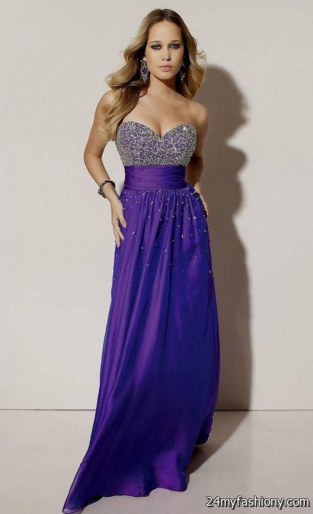 dark purple prom dresses long 2016-2017 » B2B Fashion