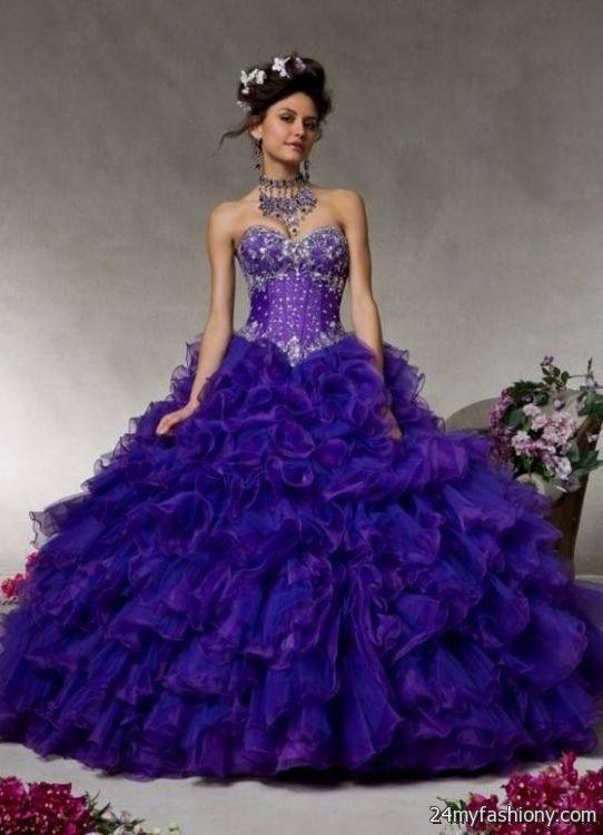 dark purple quinceanera dresses 2016-2017 » B2B Fashion