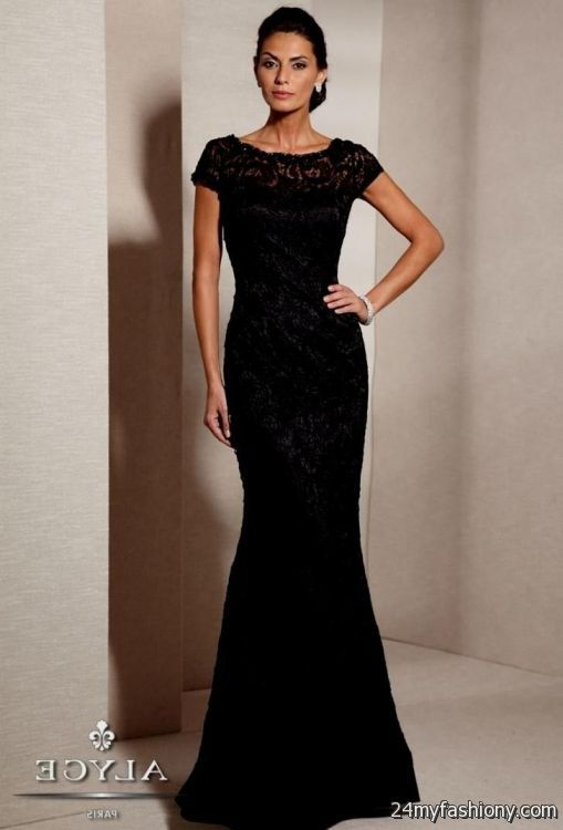 elegant black lace cocktail dresses 2016-2017 » B2B Fashion
