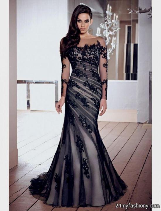 elegant prom dress 2017-#18