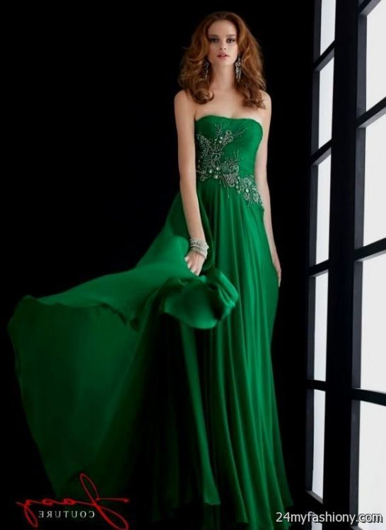 emerald green prom dress 2016-2017 | B2B Fashion