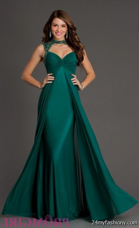 Prom Dresses In Emerald Green 46